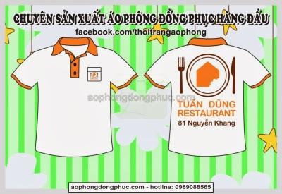 may dong phuc nha hang an nhanh