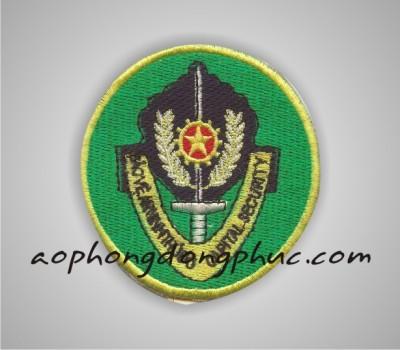 theu logo bao ve len ao