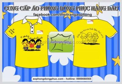 xuong may ao dong phuc tai tro ao phong qua tang